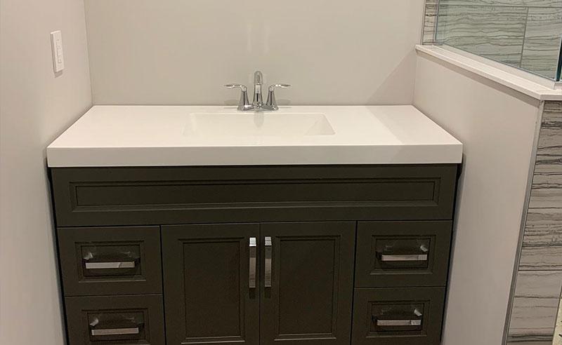 sink bathroom renovation
